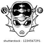 vector hand drawn illustration...   Shutterstock .eps vector #1234567291