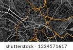 design art black white map city ... | Shutterstock .eps vector #1234571617