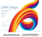 abstract blend background....   Shutterstock .eps vector #1234593091