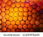abstract warm red and orange... | Shutterstock . vector #1234595644