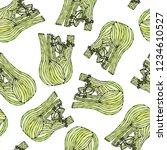 seamless endless pattern of... | Shutterstock .eps vector #1234610527