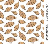 seamless endless pattern of...   Shutterstock .eps vector #1234610764