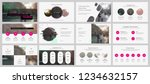 presentation template.... | Shutterstock .eps vector #1234632157