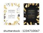 christmas bright background...   Shutterstock .eps vector #1234710067