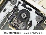 mechanism of pc dvd disk drive  ... | Shutterstock . vector #1234769314