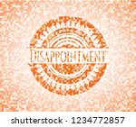 disappointment abstract emblem  ... | Shutterstock .eps vector #1234772857