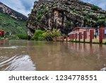beautiful waterfall  kali ali... | Shutterstock . vector #1234778551