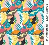 havana primitive seamless... | Shutterstock .eps vector #1234788991