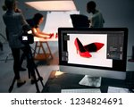 product photography shoot of... | Shutterstock . vector #1234824691