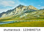 a view of the brooks range and... | Shutterstock . vector #1234840714