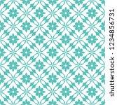 abstract seamless ornamental... | Shutterstock .eps vector #1234856731