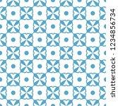 abstract seamless ornamental... | Shutterstock .eps vector #1234856734