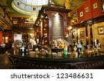 london   july 30   interior of... | Shutterstock . vector #123486631