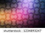 dark pink  yellow vector... | Shutterstock .eps vector #1234893247