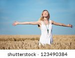 Woman In Cornfield