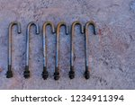 steel or iron tap tube with... | Shutterstock . vector #1234911394