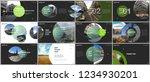 minimal presentations design ... | Shutterstock .eps vector #1234930201