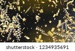 modern magic glitter confetti ... | Shutterstock .eps vector #1234935691