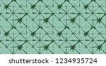 japanese kimono vector seamless ... | Shutterstock .eps vector #1234935724