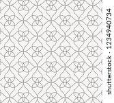 linear vector pattern ... | Shutterstock .eps vector #1234940734
