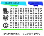 vector icons pack of 120 filled ... | Shutterstock .eps vector #1234941997