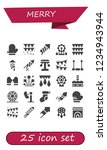 vector icons pack of 25 filled... | Shutterstock .eps vector #1234943944