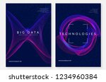 big data background. technology ... | Shutterstock .eps vector #1234960384