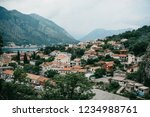 aerial view of kotor   a city... | Shutterstock . vector #1234988761