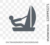 sailboat sport icon. trendy... | Shutterstock .eps vector #1234992271