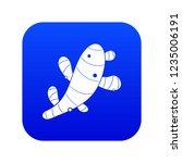 ginger icon digital blue for... | Shutterstock .eps vector #1235006191