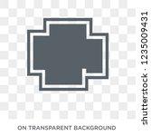 pagan icon. trendy flat vector... | Shutterstock .eps vector #1235009431