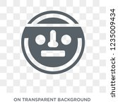 paganism icon. trendy flat... | Shutterstock .eps vector #1235009434