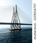 mumbai worli sea link is one of ... | Shutterstock . vector #1235016757