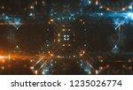 abstract plexus structure of...   Shutterstock . vector #1235026774