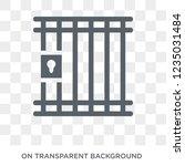 Prison Icon. Trendy Flat Vector ...