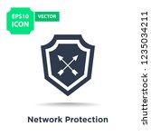 icon business hardware... | Shutterstock .eps vector #1235034211