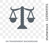 adminstrative law icon. trendy... | Shutterstock .eps vector #1235045551