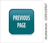 previous page vector button ...   Shutterstock .eps vector #1235110567