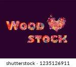 fashion design on dark... | Shutterstock . vector #1235126911
