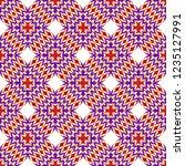 fashion zigzag pattern. vector... | Shutterstock .eps vector #1235127991