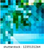 chaos colored mosaic on glass    Shutterstock .eps vector #1235131264