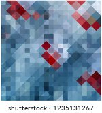 chaos colored mosaic on glass    Shutterstock .eps vector #1235131267