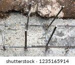 builders pour concrete into the ...   Shutterstock . vector #1235165914
