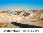 scenic road artists drive in... | Shutterstock . vector #1235167597