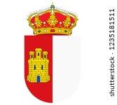 flag of castile la mancha or...   Shutterstock .eps vector #1235181511