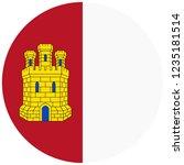 flag of castile la mancha or...   Shutterstock .eps vector #1235181514