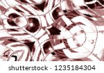 colorful abstract pattern for... | Shutterstock . vector #1235184304