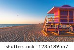 miami beach florida | Shutterstock . vector #1235189557