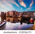 First Light On The Tugboats An...