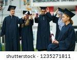 group of diverse international...   Shutterstock . vector #1235271811